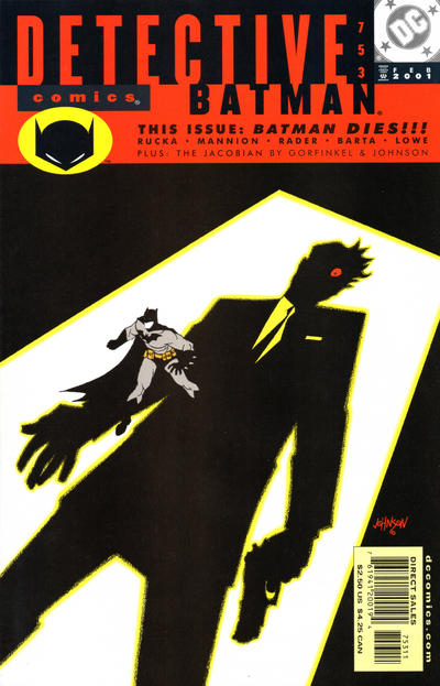 Cover for Detective Comics (DC, 1937 series) #753