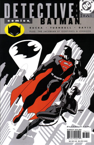 Cover for Detective Comics (1937 series) #756
