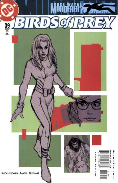Cover for Birds of Prey (1999 series) #39