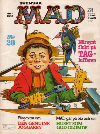 Cover for Mad (Semic, 1976 series) #4/1980