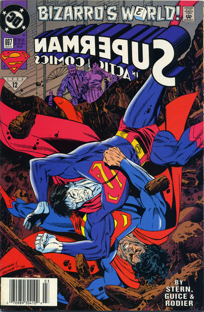 Cover for Action Comics (DC, 1938 series) #697