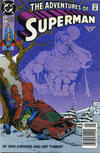 Cover Thumbnail for Adventures of Superman (1987 series) #474 [Newsstand Edition]