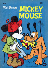 Cover Thumbnail for Walt Disney's Mickey Mouse (W. G. Publications; Wogan Publications, 1956 series) #154