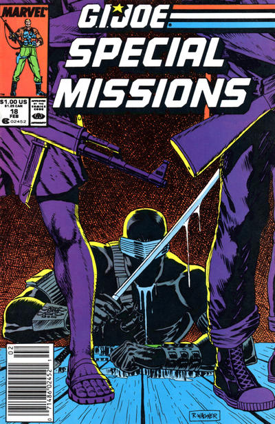 Cover for G.I. Joe Special Missions (Marvel, 1986 series) #18 [Direct Edition]