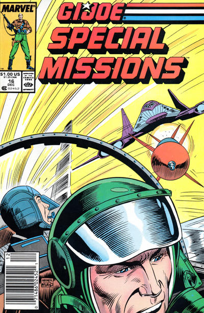 Cover for G.I. Joe Special Missions (Marvel, 1986 series) #16 [Direct Edition]
