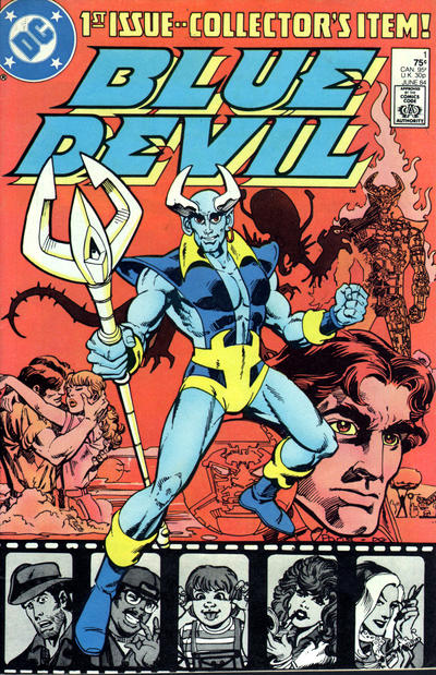 Cover for Blue Devil (DC, 1984 series) #1 [direct-sales]