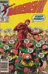 Cover for Daredevil (Marvel, 1964 series) #209 [Newsstand Edition]