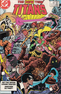 Cover Thumbnail for The New Teen Titans (DC, 1980 series) #37 [Direct-Sales]