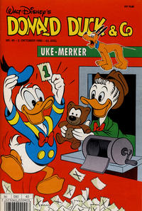 Cover Thumbnail for Donald Duck & Co (Hjemmet, 1948 series) #40/1990