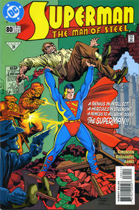 Cover Thumbnail for Superman: The Man of Steel (DC, 1991 series) #80 [Direct Edition]