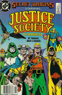 Cover for Secret Origins (DC, 1986 series) #31