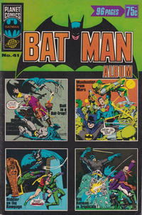 Cover Thumbnail for Batman Album (K. G. Murray, 1976 series) #41