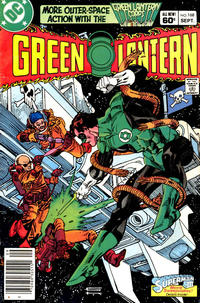 Cover Thumbnail for Green Lantern (DC, 1976 series) #168 [Newsstand]