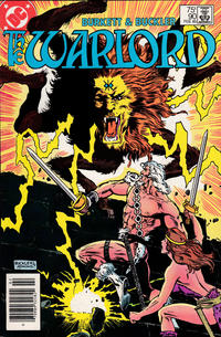 Cover for Warlord (DC, 1976 series) #90 [direct]