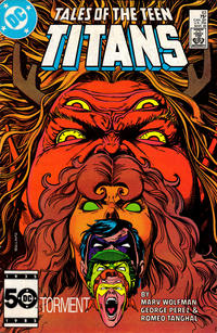 Cover Thumbnail for Tales of the Teen Titans (DC, 1984 series) #63 [Direct Sales Variant]