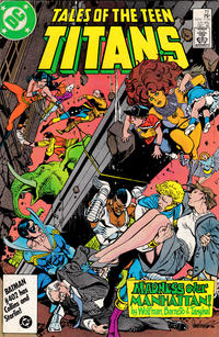Cover Thumbnail for Tales of the Teen Titans (DC, 1984 series) #72 [Direct Sales Variant]