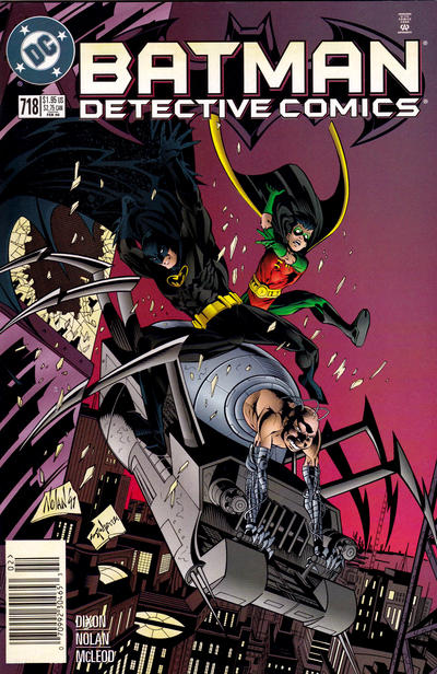 Cover for Detective Comics (DC, 1937 series) #718 [Direct Edition]