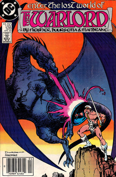 Cover for Warlord (DC, 1976 series) #128 [direct]