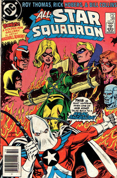 Cover for All-Star Squadron (DC, 1981 series) #38 [direct-sales]