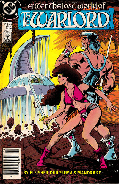 Cover for Warlord (DC, 1976 series) #124 [direct]
