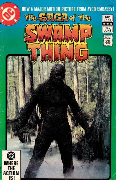 Cover for The Saga of Swamp Thing (DC, 1982 series) #2