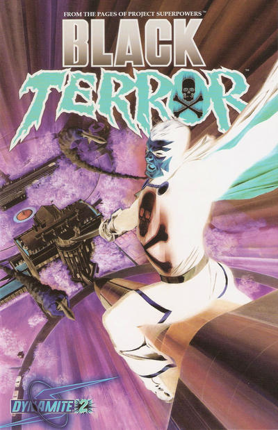 Cover for Black Terror (Dynamite Entertainment, 2008 series) #2 [Mike Lilly Cover]