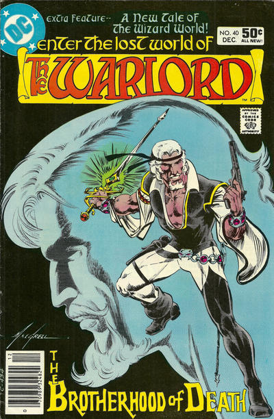 Cover for Warlord (DC, 1976 series) #40 [direct]