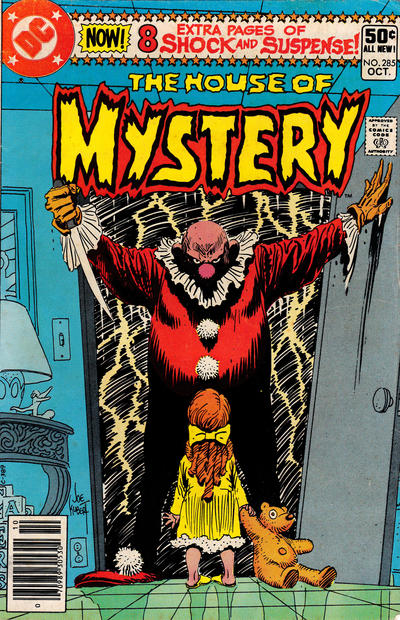 Cover for House of Mystery (DC, 1951 series) #285 [Direct]