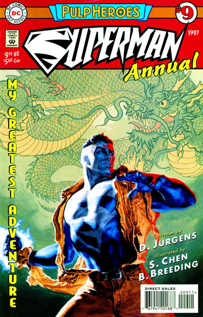 Cover for Superman Annual (DC, 1987 series) #9 [Direct Sales Variant]