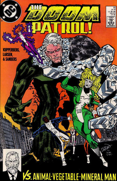 Cover for Doom Patrol (DC, 1987 series) #15 [Direct Edition]