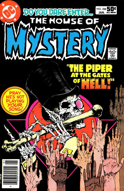 Cover for House of Mystery (DC, 1951 series) #288