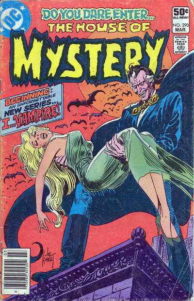 Cover for House of Mystery (DC, 1951 series) #290