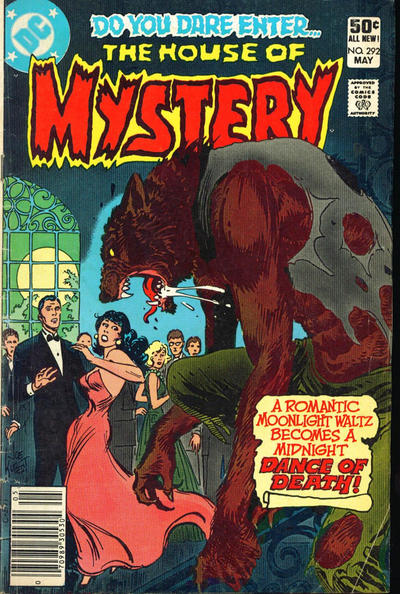 Cover for House of Mystery (DC, 1951 series) #292