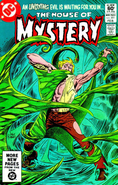 Cover for House of Mystery (DC, 1951 series) #301 [Newsstand]
