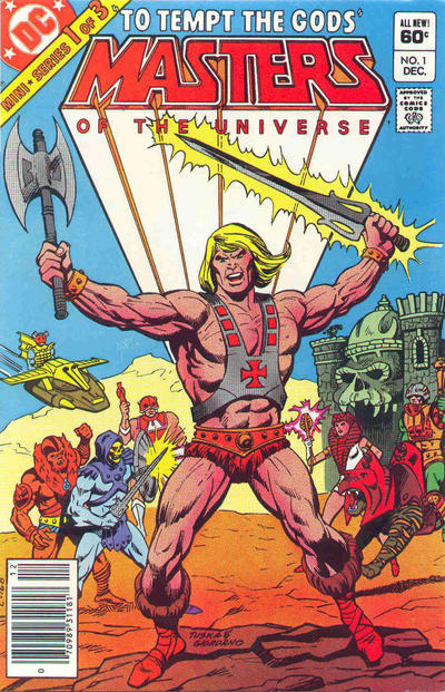 Cover for Masters of the Universe (DC, 1982 series) #1