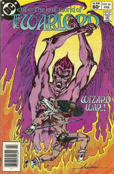 Cover for Warlord (DC, 1976 series) #66 [Direct-Sales]
