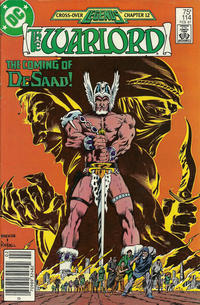 Cover for Warlord (DC, 1976 series) #114 [direct]