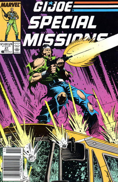 Cover for G.I. Joe Special Missions (Marvel, 1986 series) #27 [Direct Edition]