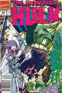 GCD Issue The Incredible Hulk 388 Newsstand Edition