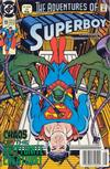 Cover Thumbnail for The Adventures of Superboy (1991 series) #19 [Newsstand]