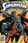 Cover for Adventures of Superman (DC, 1987 series) #425 [Newsstand]
