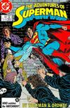 Cover for Adventures of Superman (DC, 1987 series) #433 [Direct Sales]