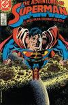 Cover for Adventures of Superman (DC, 1987 series) #435 [Direct]