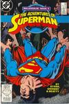 Cover for Adventures of Superman (DC, 1987 series) #436 [Direct]