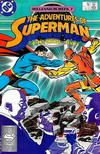Cover for Adventures of Superman (DC, 1987 series) #437 [Direct]