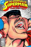 Cover for Adventures of Superman (DC, 1987 series) #438 [Direct]