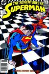 Cover for Adventures of Superman (DC, 1987 series) #441 [Newsstand]