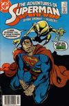 Cover Thumbnail for Adventures of Superman (1987 series) #442 [Newsstand]