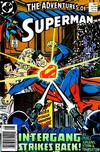Cover for Adventures of Superman (DC, 1987 series) #457 [Newsstand]