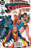 Cover for Adventures of Superman (DC, 1987 series) #475 [Newsstand]